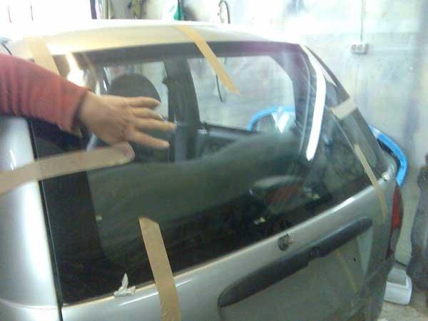 Замена стекла в автомобиле своими руками видео